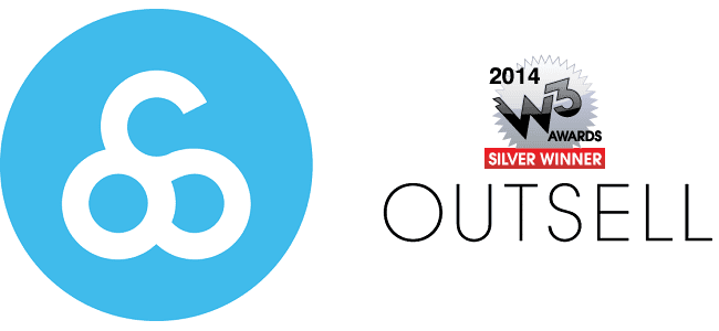 Outsell and W3 Silver Award Logo