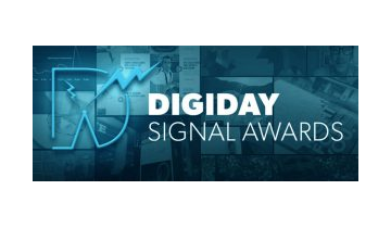 Digiday Signal Awards banner