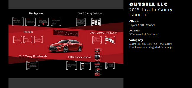 2015 Camry launch banner
