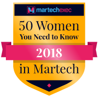 2017 women in Martech badge