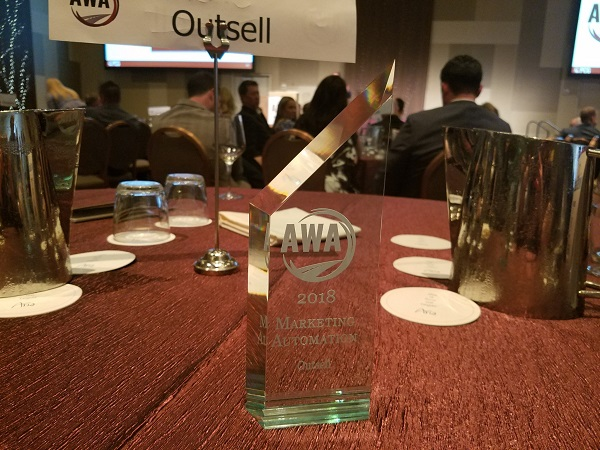 Outsell AWA award