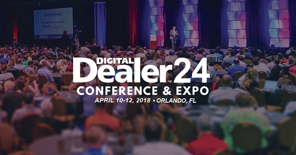 2018 Digital Dealer Conference & Expo banner