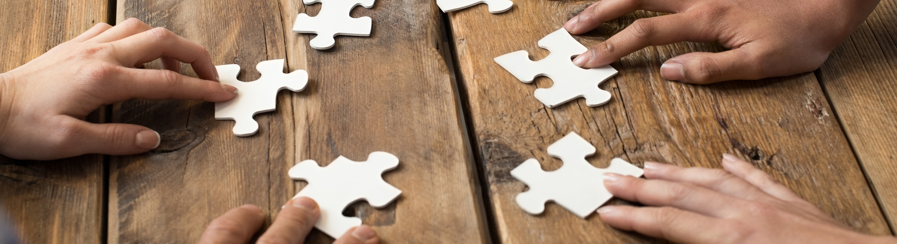 Outsell's Values- puzzle pieces