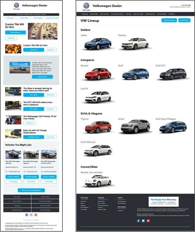 Behaviorally Targeted Email Campaigns for Auto Dealers | Outsell