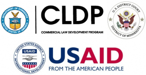Commercial Law Development Program and US AID logos